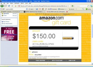 Amazon Wishlist Gift Card